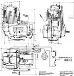 ROTAX engine drawing