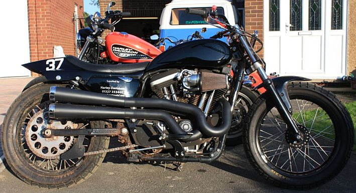 Standard And Modified Harley Davidson 883 Sportster